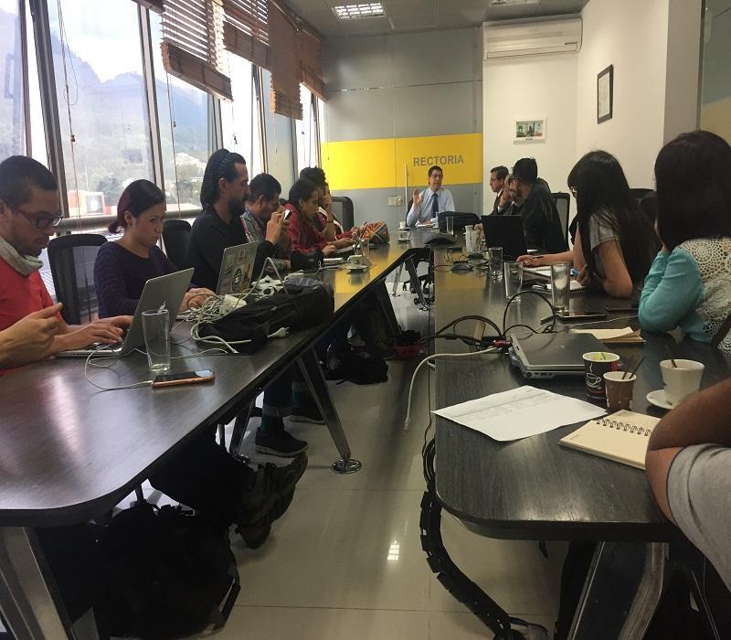Encuentro entre directivas y movimiento estudiantil
