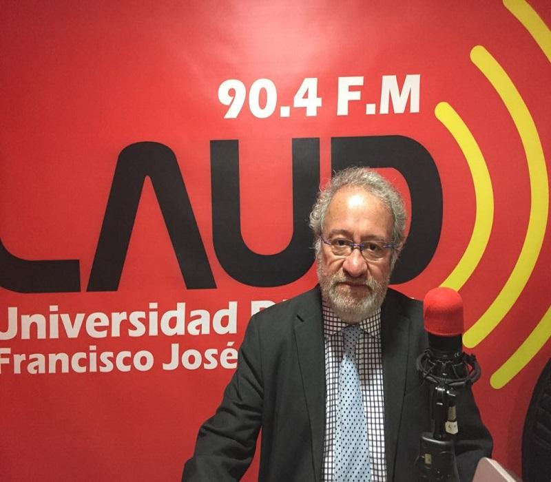 rector de la Universidad Distrital