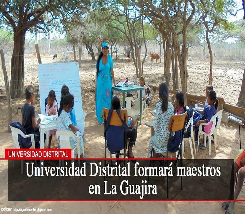 Universidad Distrital interviene en importante proyecto formativo en La Guajira