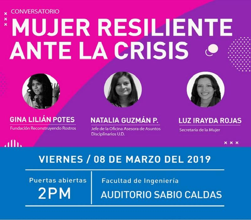 La Universidad Distrital conmemora el Día Internacional de la Mujer