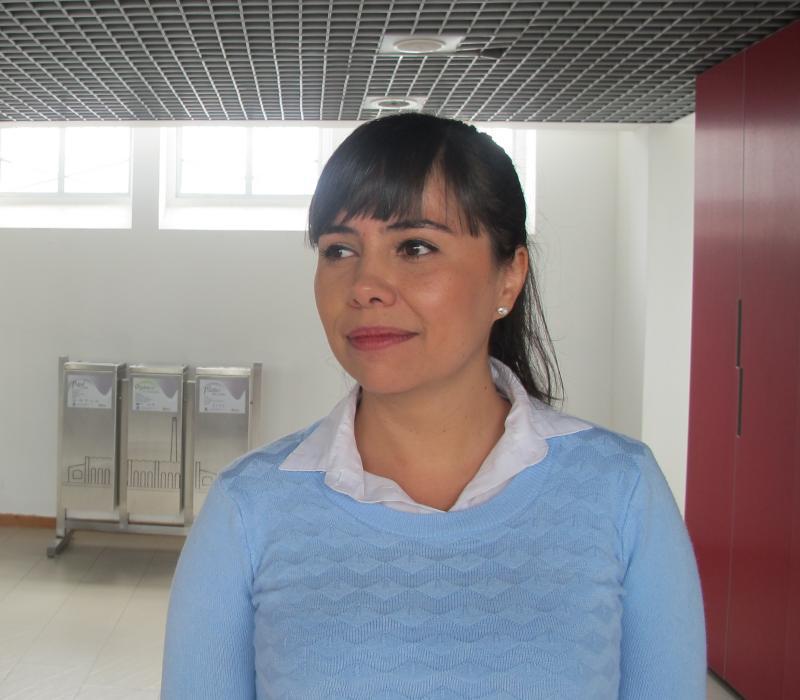 Foto de la Nueva doctora en educación del DIE-UD