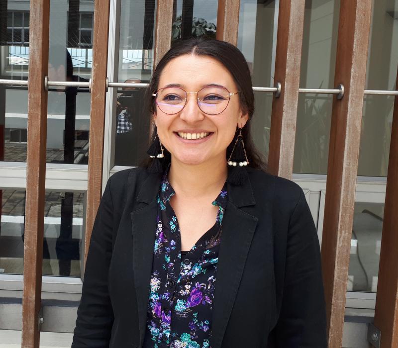 Foto de Liliana Escobar aprobación del proyecto de tesis doctoral