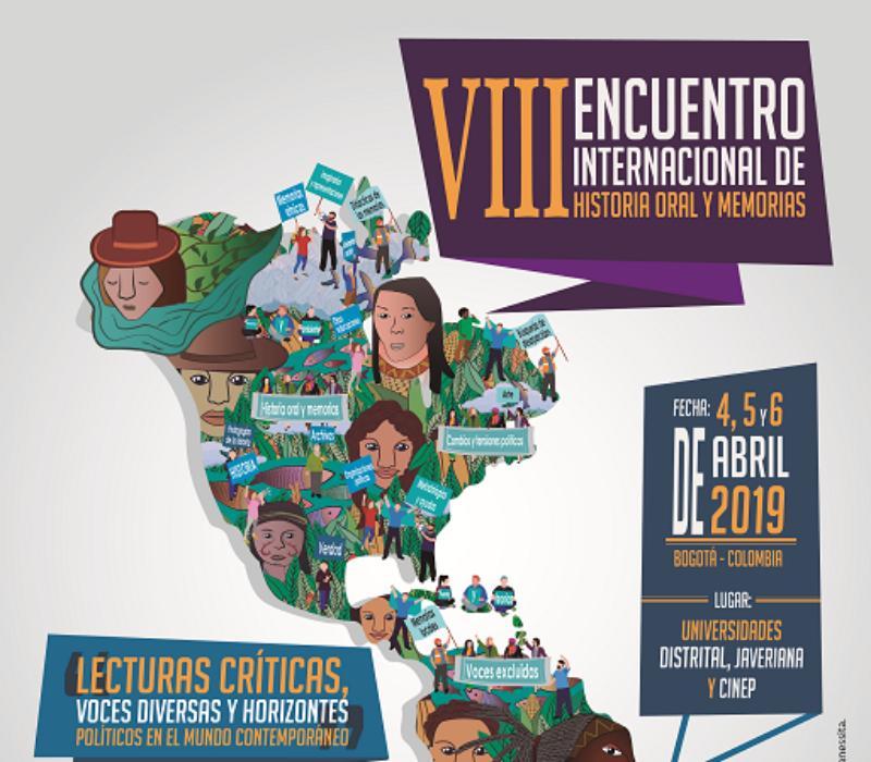 VIII Encuentro Internacional de Historia Oral y Memorias