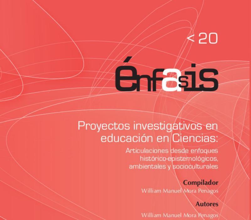 Portada de libro Proyectos investigativos en educación en ciencias