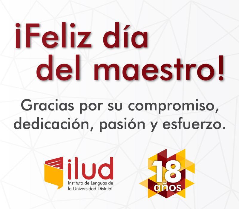 Luz Marilyn Ortiz, directora del ILUD, reconoce y exalta admirable labor de los maestros en su día.