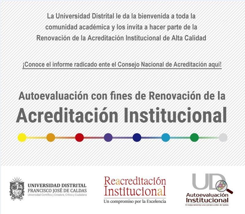 Renovación Acreditación Institucional
